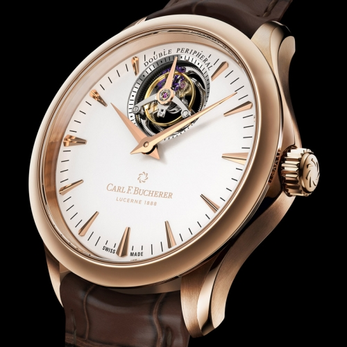 CARL F. BUCHERER Manero Tourbillon Double Peripheral