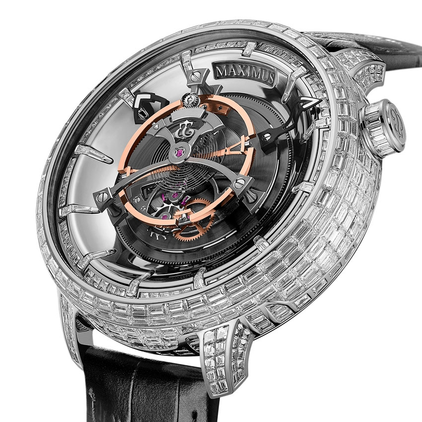 KERBEDANZ Maximus Royal Tourbillon Jewellery
